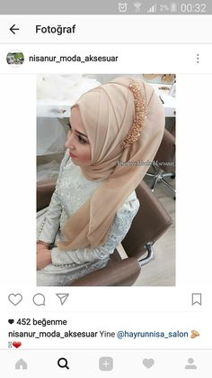 New Bridal Hijab Turban Wedding Dresses 18 Ideas Wedding Hijab Styles, Hijab Wedding Dresses, Muslim Fashion, Hijab Fashion, Fashion Muslimah, Hijab Trends, Hijab Ideas, Kate Spade Bridal, Turban Hijab