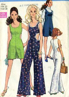 Vintage 60s Simplicity 8244 CUT Misses Cut Out by RomasMaison