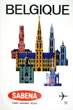 SABENA - BELGIQUE BUILDINGS by ANONYMOUS