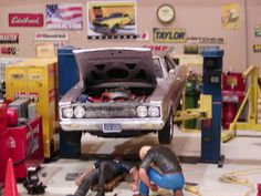 49 Best Miniature Car Boat And Garages Gas Stations Images