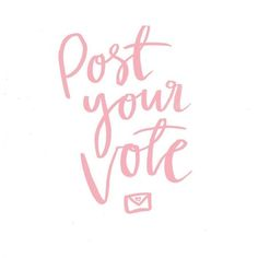 #kgoletters: Australian friends - get those ballots to the post box ASAP and #voteyes for marriage equality