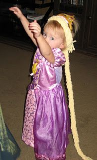 Rapunzel-this is cute