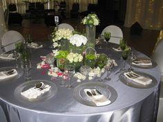 Silver 2 www.unlimitedevents.co.za Table Settings, Events, Weddings, Group, Silver, Wedding, Place Settings, Marriage, Tablescapes
