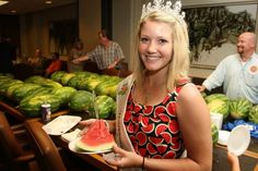 Get a taste of #Oklahoma grown fruit at the Rush Springs Watermelon Festival. There's plenty of watermelon to snack on and entertainment for the entire family.