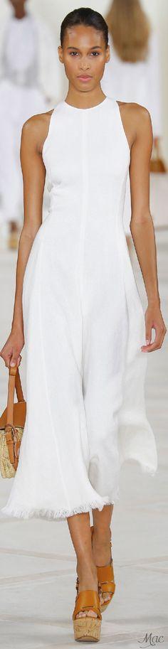 Spring 2016 Ready-to-Wear RalphLauren http://bit.ly/1R6lEtm http://bit.ly/1UdZ1IT