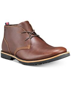 Timberland Men's Richdale Leather Chukka Boots, Created For Macy's - Glazed Ginger Timberland Boots Outfit, Timberland Waterproof Boots, Leather Chukka Boots, Yellow Boots, Shoe Company, Jeans, Men's Shoes, Brown, Slippers