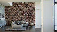 Architects Paper Fototapete Ziegel