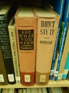 The conflicted librarian. | 22 Book Lovers Who Are Doing It Right