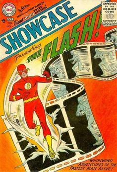 Showcase#4(1st appearance of the Silver age Flash/Barry Allen)