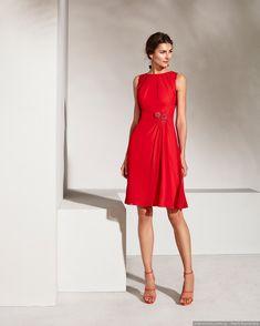 34c0940b9c7 Vestidos rojos cortos: 30 modelos llamativos y seductores