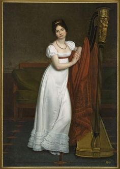 Portrait of Madame Genas-Duhomme Menjaud Alexander (1773-1832) 1802