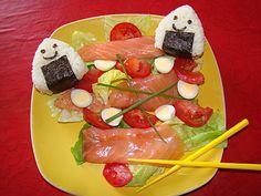 Salade fraiche version onigiris ww