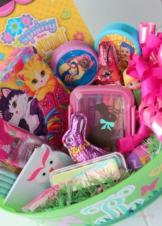 No sugar easter basket filler ideas easter baskets sugar free how to make an awesome and cheap easter basket shes kinda crafty negle Image collections