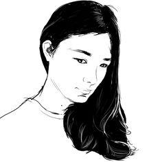 girl,draw