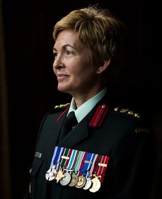 Meet the world's first female combat general