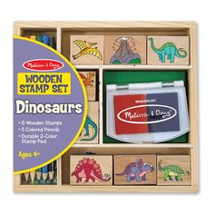 Melissa and Doug : Dinosaur Stamp Set