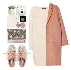 """#1085 Marjorie"" by blueberrylexie ❤ liked on Polyvore featuring Miu Miu, Loro Piana, Acne Studios, New Look, Victoria's Secret, Smythson, Fujifilm, Adia Kibur, Bobbi Brown Cosmetics and Allstate Floral"