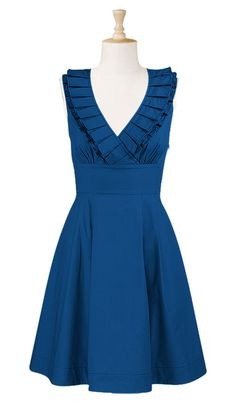 Garden Party/ Wedding/ Easter/ Luncheon GORGEOUS Blue Dress