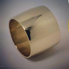 #finejewellery #9ctgold #yellowgold #weddingband #16mmband #wideband #kaedesigns #fullsolid #buyfrommyebaystore Wedding Bands, Cuff Bracelets, Fine Jewelry, Rings, Instagram, Ring, Wedding Band, Wedding Band Ring, Bangles