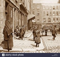 Dublin early The photographer could possibly be standing at the junction of Little Britain Street and Campbells Court looking toward Capel Street Ireland Pictures, Images Of Ireland, Old Pictures, Old Photos, Vintage Photos, Dublin Street, Dublin City, Dublin Ireland, Ireland Travel