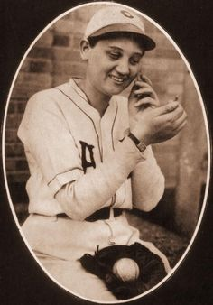 On April 2, 1931, left-handed pitcher Jackie Mitchell struck out Babe Ruth and Lou Gehrig back-to-back. It only took her seven pitches total. | The Story Of The 17-Year-Old Girl Who Struck Out Babe Ruth And Lou Gehrig