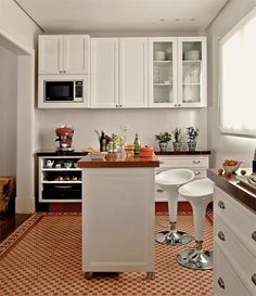 3 cozinhas que acolhem os moradores - Casa