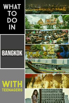 Planning a trip to Bangkok Thailand with teenagers. Looking for things to do in Bangkok with teenagers. We have cultural, history, shopping, food, outdoor and indoor activities for your family vacation in Bangkok  things to do in Bangkok | what to see in Bangkok | Bangkok attractions | Thailand | South East Asia | Night markets | Grand Palace Bangkok | Mo & Moshi | Bangkok tours | Bangkok day trips |   #bangkok #thailand #asia #travel #holiday #vacation #siam #teenager #familytravel #seasia