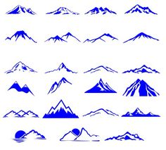 Mountain tattoo ideas