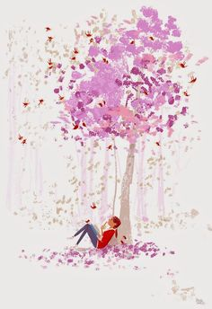 The Idea tree..blooming with inspiration. #pascalcampion