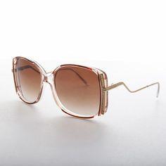 Elegant Upscale Fashion Stylish Oversized Womens Chic Pink Square Sunglasses
