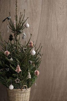 Inspiration: Weihnachtsbaum auf Skandinavisch