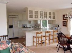 Kitchen area of Teddy Kennedy house. Kennedy Compound, Hyannis Port, Les Kennedy, Rich Home, Celebrity Houses, Rare Photos, Kitchen, Furniture, Jfk