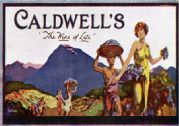 Caldwell's Vintage Advertisement Poster The Wine of Life Australian Wine Company Ltd, Australia by J