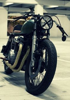 Honda CB650 Cafe Racer by Ugly Motorbikes #motorcycles #caferacer #motos | caferacerpasion.com
