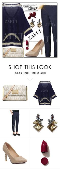 """""""www.zaful.com/?lkid=8105"""" by esma178 ❤ liked on Polyvore featuring Michael Kors, NARS Cosmetics, women's clothing, women, female, woman, misses, juniors, sale and polyvoreeditorial"""