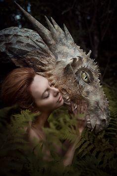 Fotografía Dragon por Настя Мел en 500px