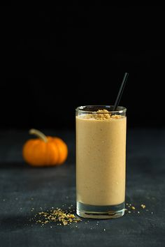 Pumpkin Cheesecake Breakfast Smoothie - Cooking Classy