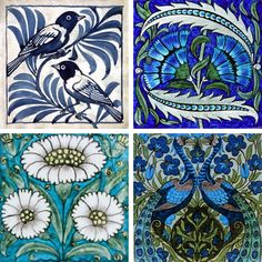 Creative Sketchbook: William de Morgan's Ceramic Tile Patchwork!