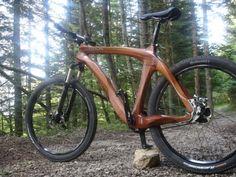 WOODALPS bicycles | Wooden bikes | Vélos bois