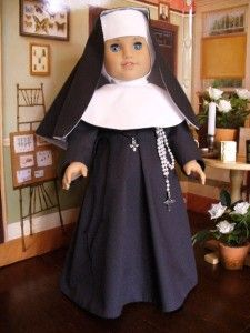 Doll Clothes Pattern Nuns Habits American Girl