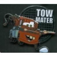 Tow Mater Pin on Pin Disney-Pixar Cars 2 Mystery Set