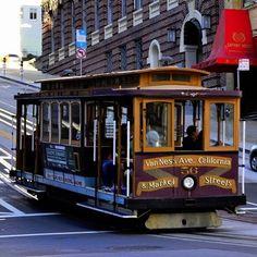 Ride a Cablecar in SF is a must #sanfrancisco #sf #bayarea #alwayssf #goldengatebridge #goldengate #alcatraz #california