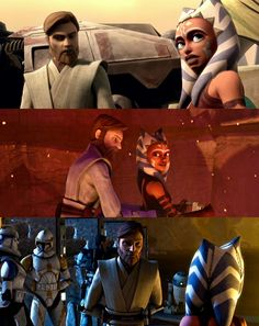 Clone Wars Photos - Ahsoka Tano and Obi-Wan Kenobi