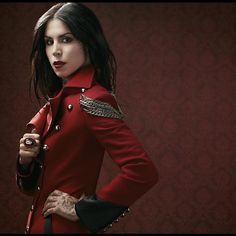Napoleon coat. Military style, can't help it, I love this coat too much. Ring probably from House of Gasoline