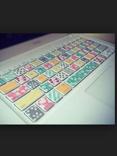Mac keyboard design