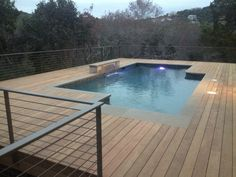 Ipe Hardwood Pool Decking