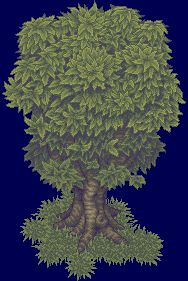 Pixel Tree V3 by ~Kiwinuptuo