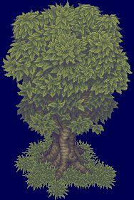Pixel Tree V3 by ~Kiwinuptuo