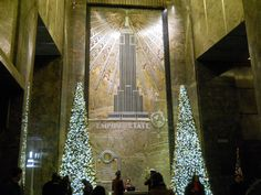 lobby, empire state building, NYC