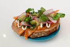 Introducing: Fika, a charming new café in Kensington Market from Victor Barry and Nikki Leigh McKean - Gallery | torontolife.com - Smoked salmon smorgasbord: cured Irish organic salmon, crème fraiche, radish, pickled cucumbers and red onions on caraway rye
